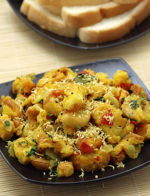 Bread upma recipe bread pieces sauteed in spices south indian how to make bread upma forumfinder Image collections