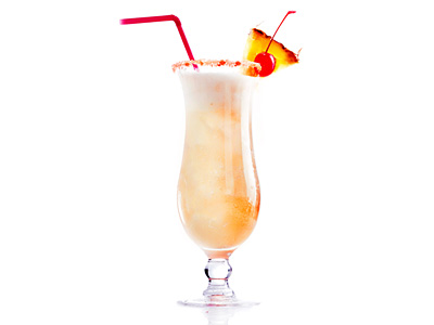 Pina colada cocktail  Pina Colada Recipe - Authentic 1950s Style Cocktail Recipe with ...
