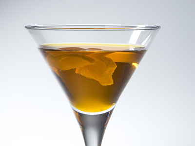Coconut Vodka Martini