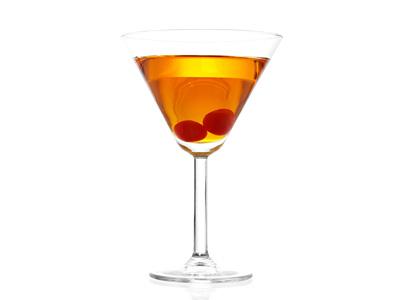 Southern Comfort Manhattan Cocktail