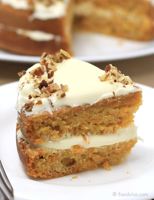 Simple Carrot Cake Recipe from Scratch