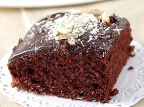 Chocolate Cake (Eggless)