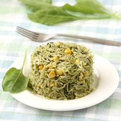 Palak Pulao (Spinach Rice)
