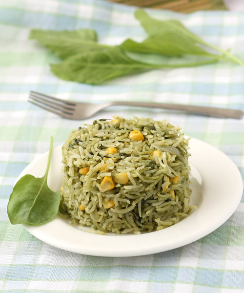 How to make Spinach Pulao