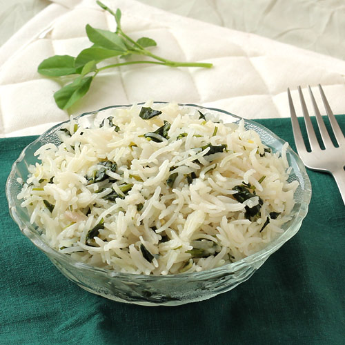 Healthy Fenugreek Pulao Recipe