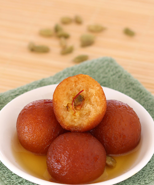 Instant gulab jamun with gits ready mix recipe with stepwise photos recipe of instant gits gulab jamun forumfinder