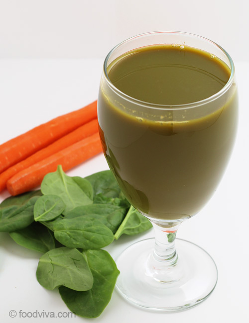 Carrot Spinach Celery Juice