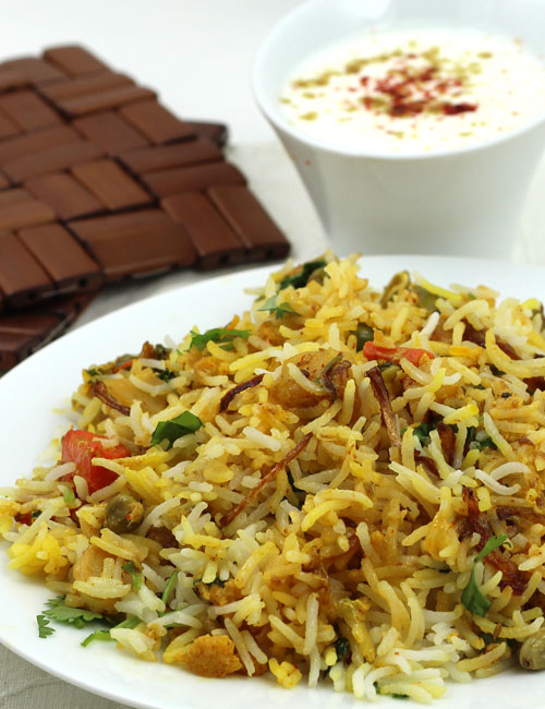 Vegetable biryani recipe hyderabadi veg dum biryani step by step hyderabadi style dum veg biryani recipe forumfinder Choice Image