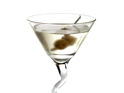 basic martini recipe gin or vodka shaken or stirred