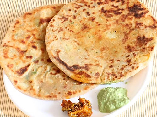 Aloo paratha recipe make best stuffed punjabi alu ka paratha alu paratha forumfinder Image collections