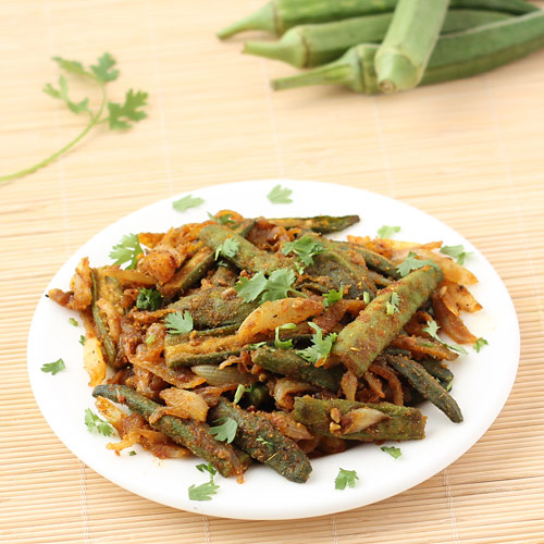 How to Make Okra Fry