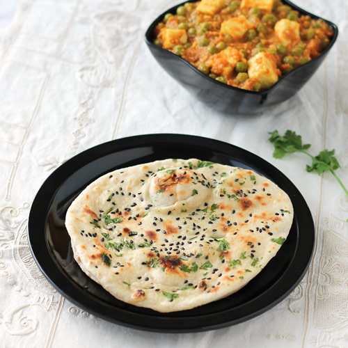 Butter Kulcha without Yeast