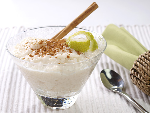Coconut Rice Pudding - Recipe of Rice Pudding with Coconut Milk