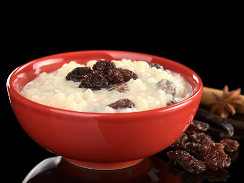 Vegan Rice Pudding Recipe - Healthy Vegan Dessert with Almond Milk