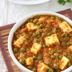 Foodviva vegetarian indian recipes with step by step photos matar paneer forumfinder Gallery