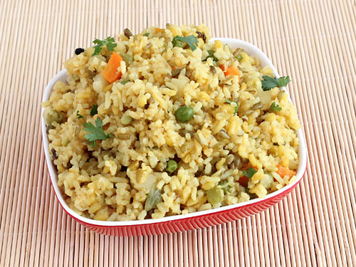 Vegetable Khichdi