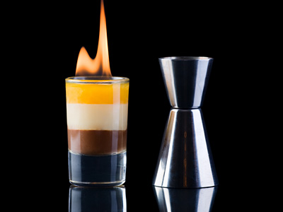 Flaming B-52 Shot