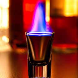 Flaming Dr Pepper (Shooter Cocktail)