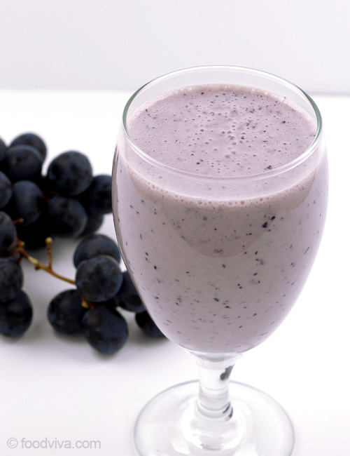 Banana and Grape Smoothie
