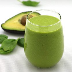 Avocado Smoothie with Almond Milk