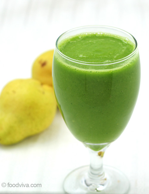 Pear Smoothie Recipe