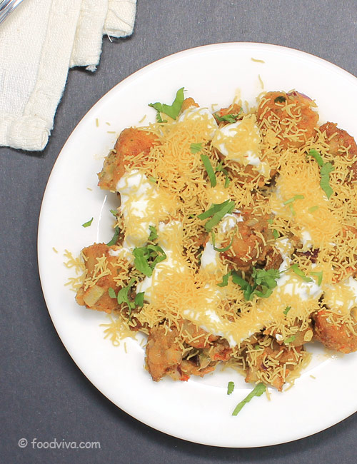 Easy Dahi Aloo Chaat Recipe