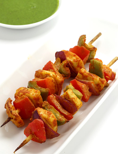 How to make Paneer Tikka in Oven