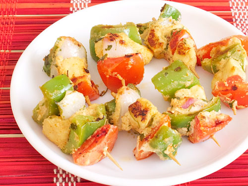 Indian Tandoori Paneer Tikka