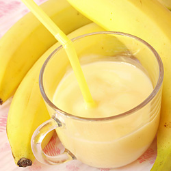 Banana Smoothie with Ice Cream