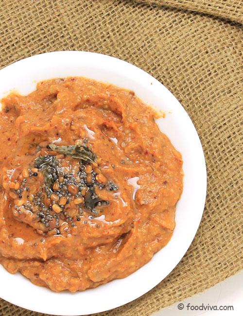 Vankaya Pachadi Recipe