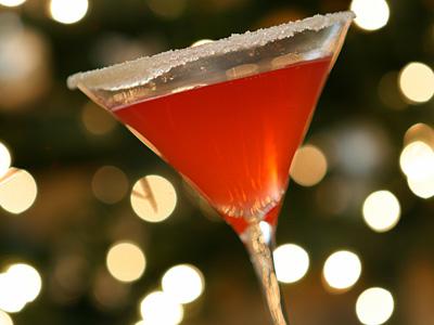 Pomegranate Vodka Martini