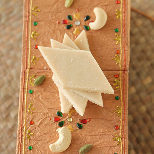 How to Make Kaju Barfi