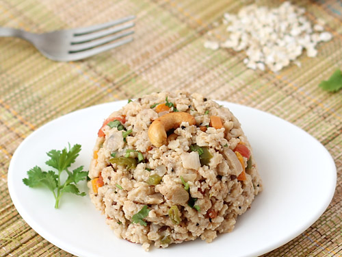 Healthy Oats Upma for Kids