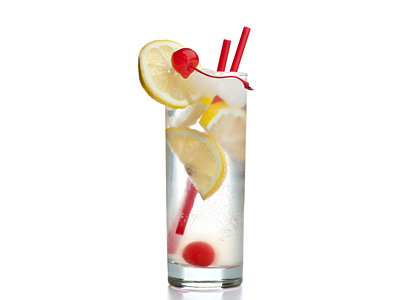 Vodka Collins Drink