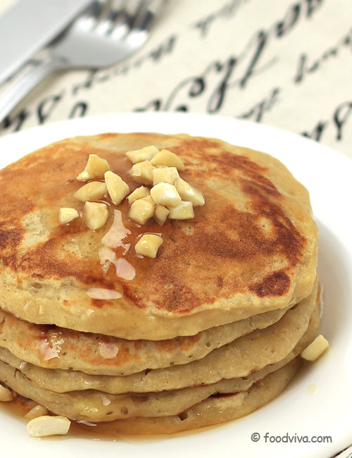 Banana Pancakes Recipe How To Make It From Scratch Step By Step Photo Recipe