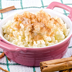 Arborio Rice Pudding