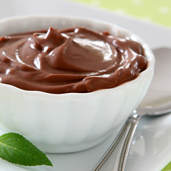 Microwave Chocolate Pudding