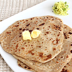 Plain Paratha (Simple Jeera Paratha)