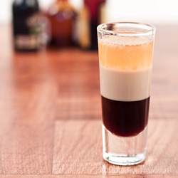 Blow Job Shot Recipe Creamy Cocktail Drink Of Kahlua And Baileys