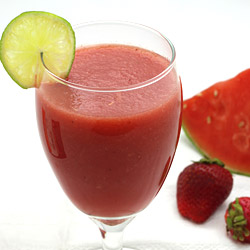 Watermelon Smoothie without Yogurt