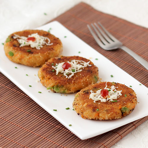 Bread Cutlet Indian Style