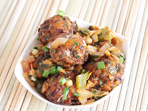 Vegetable Dry Manchurian