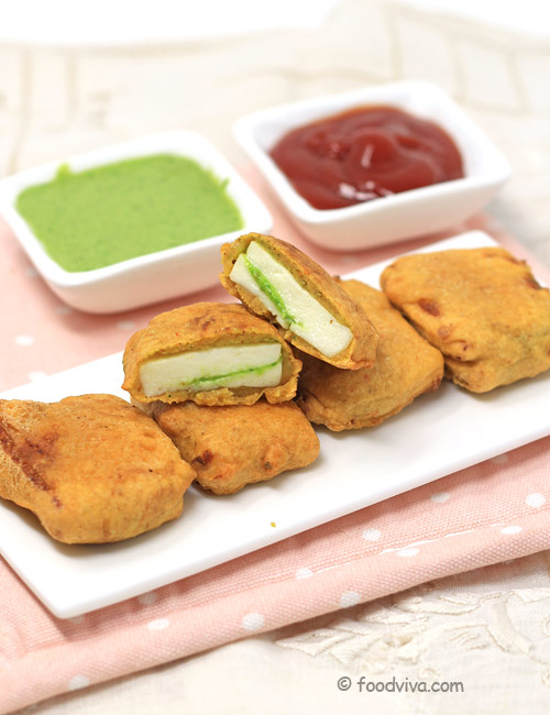 How to Make Paneer Pakoda