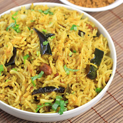 Vangi Bath (Brinjal Rice)