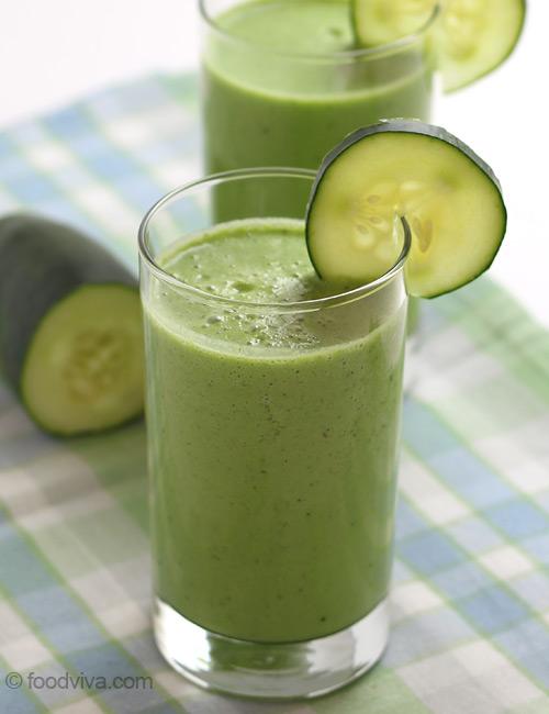 Cucumber Apple Smoothie